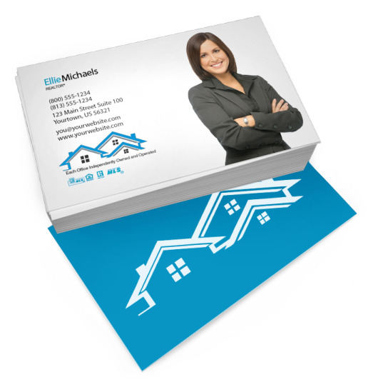 Realty business card templates free shipping real estate custom real estate agent business cards colourmoves Images